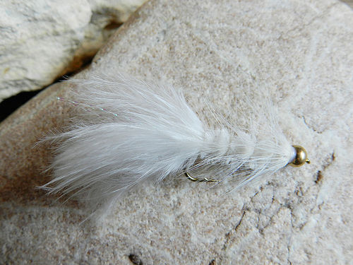 Goldkopf - Wooly Bugger white